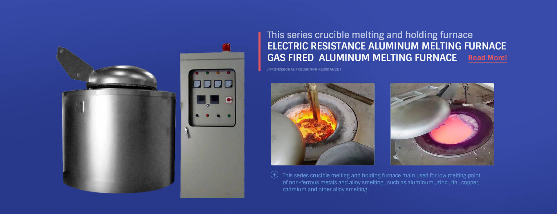 Electric Resistance Crucible Melting Furnace