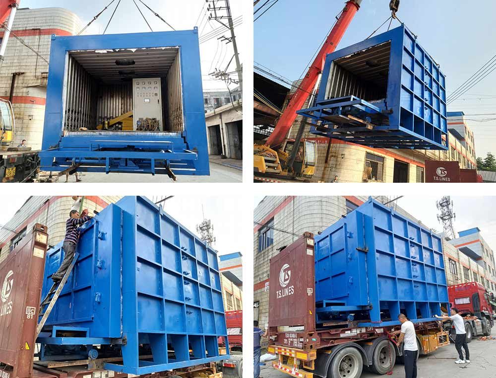 Trolley Type Tempering Heat Treatment Furnace Exported Malaysia