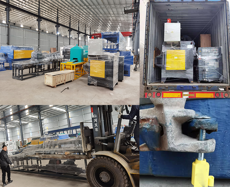 Powder molding continuous sintering furnace is shipping to Brazil