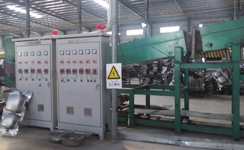 Kitchen Sink Controlled Atmosphere Bright Annealing Heat Treatment Furnace