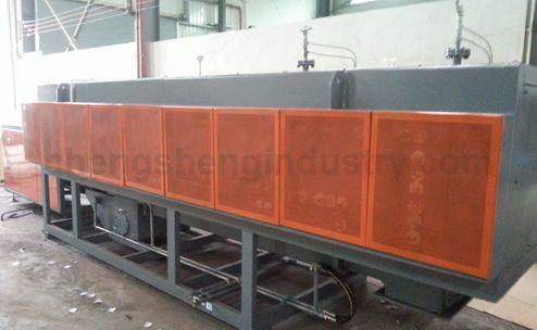 Mesh Belt Conveyor Carburizing Quenching Furnace
