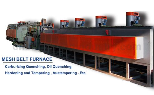 Mesh Belt Carburizing Quenching and Tempering Furnace