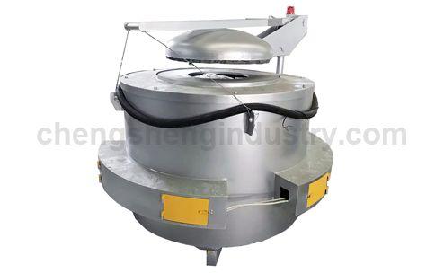 Electric Crucible Resistance Melting Furnace for Smelting Aluminum