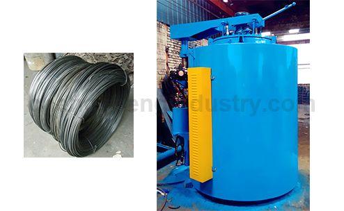 Industrial Steel Wire Annealing Furnace Machine