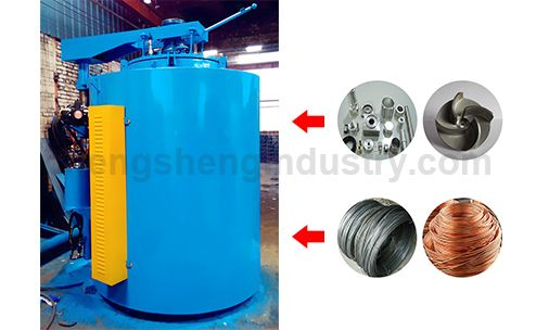 Pit-type Gas Heat Treatment Aluminum Wire Annealing Furnace