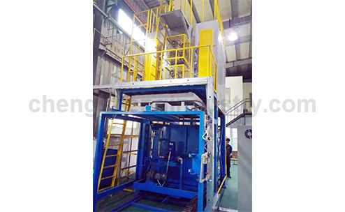 Vertical Aluminium Solid Solution And Aging Heat Treatment Furnace
