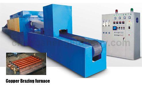 Mesh Belt Electric Copper Brazing Equipment