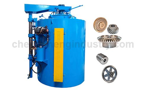 Gear and Shaft Carburizing Quenching and Tempering Furnace