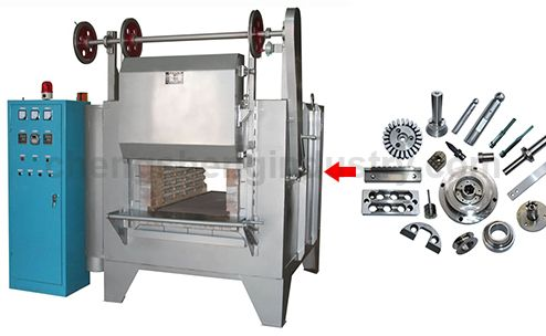 Box Type Electric Resistance Heat Treatment Hardening Furnace