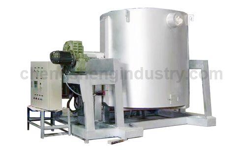 Aluminum Alloy Electric Resistance Crucible Melting Furnace