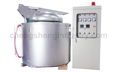 Electric Resistance Crucible Melting Furnace for Aluminum, Zinc, Tin, Copper