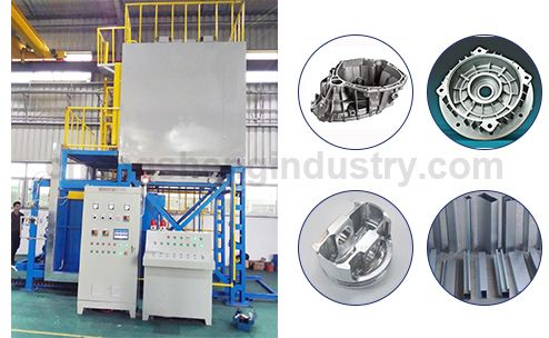 Double Car Bottom Aging Oven Furnace