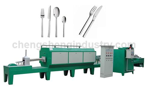 Knife Fork Spoon Tableware High Temperature Bright Quenching Heat Treatment Furnace Manufacturer