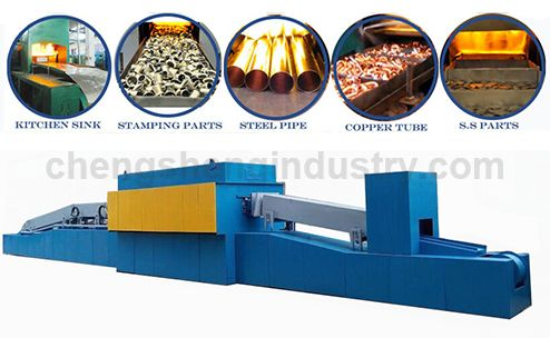 Industrial Protective Atmosphere Stainless Steel Heat Treatment Annealing Furnace