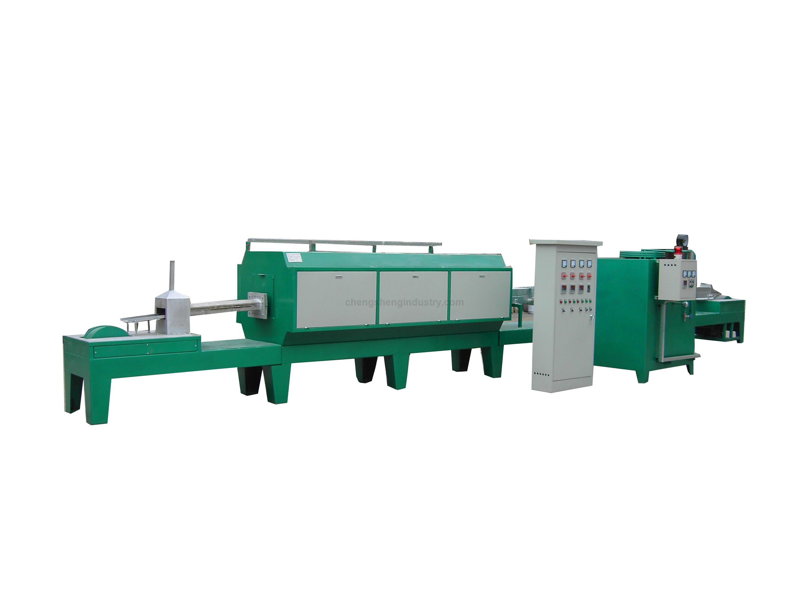 Industrial Continuous Gas Fired Bright Heat Treating Annealing Furnace