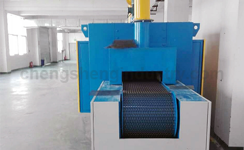Industrial Continuous Electric Aluminum Brazing Furnace / Oven