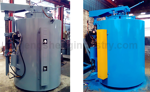 Pit Type Controlled Atmosphere Copper Wire and Tube Muffle Annealing Furnace