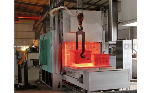 China Supplier Car Bottom Type Annealing Furnace