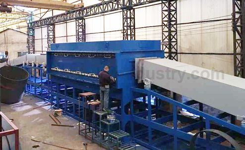 Deep Drawing Parts Controlled Atmosphere Annealing Furnace