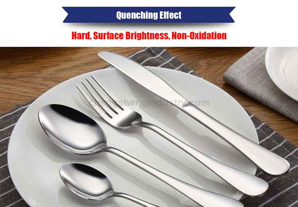 Knife, Fork and Spoon Tableware Bright Quenching Heat Treatment Furnace