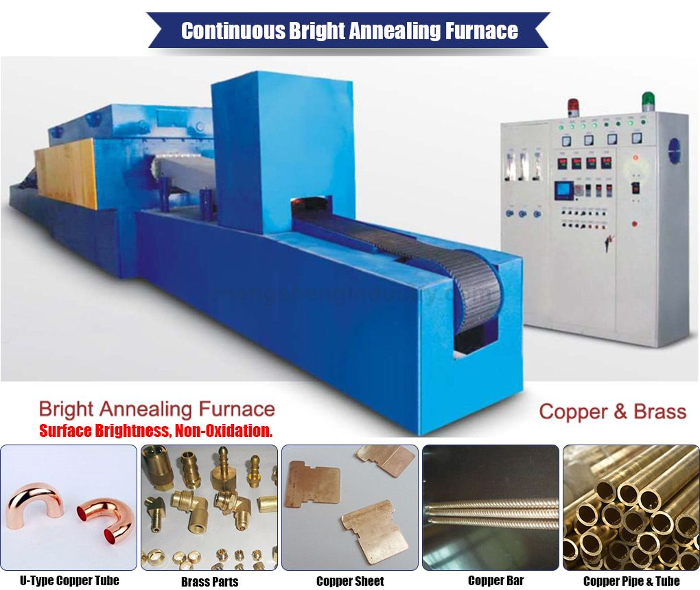 Industrial Muffle Heat Treatment Furnace for Copper