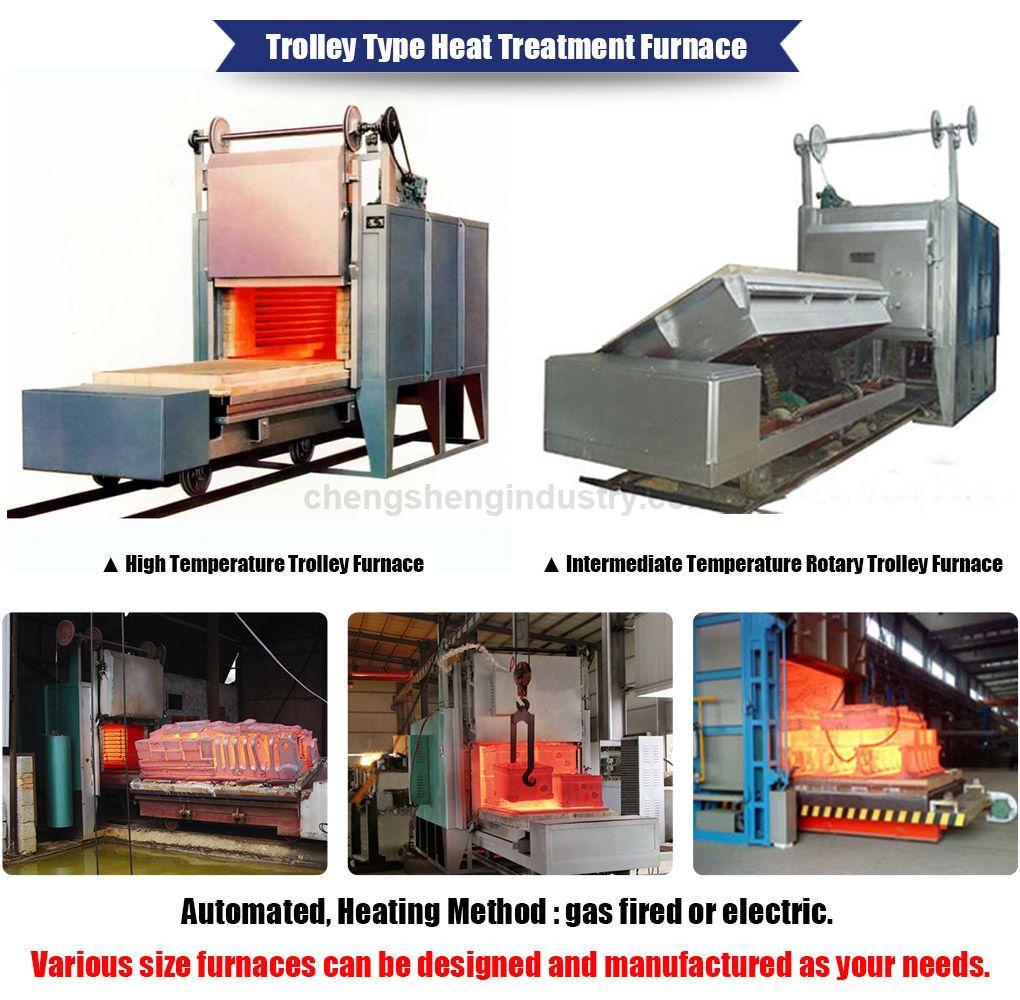 Rotary Type Car Bottom Type Heat Treatment Furnace