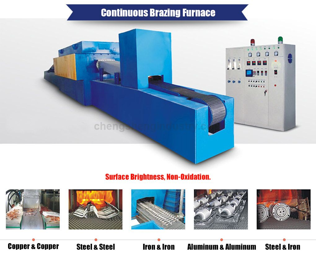 High Temperature Electric Resistance Copper Brazing Furnace