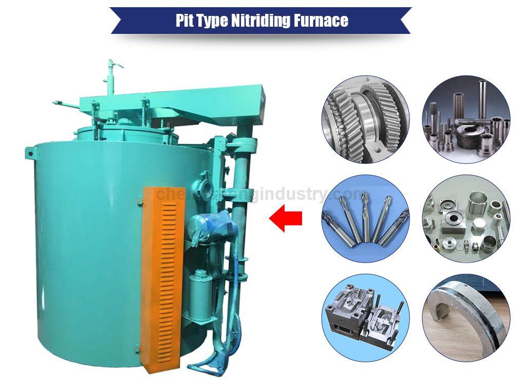 Pit Type Carbonitriding Furnace