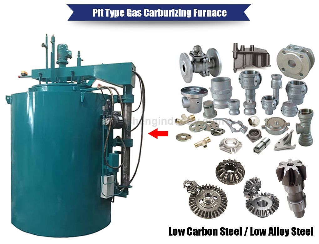 Pit Type Carburizing Furnace for Steel Parts