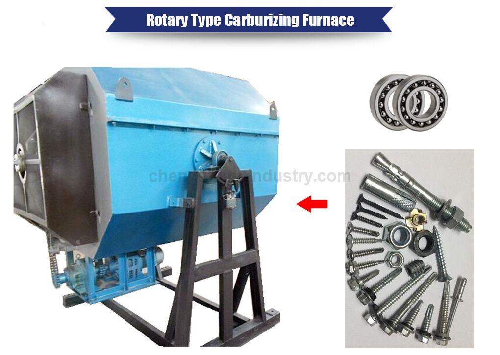Rotary Type Screw Carburizing Hardening Furnace