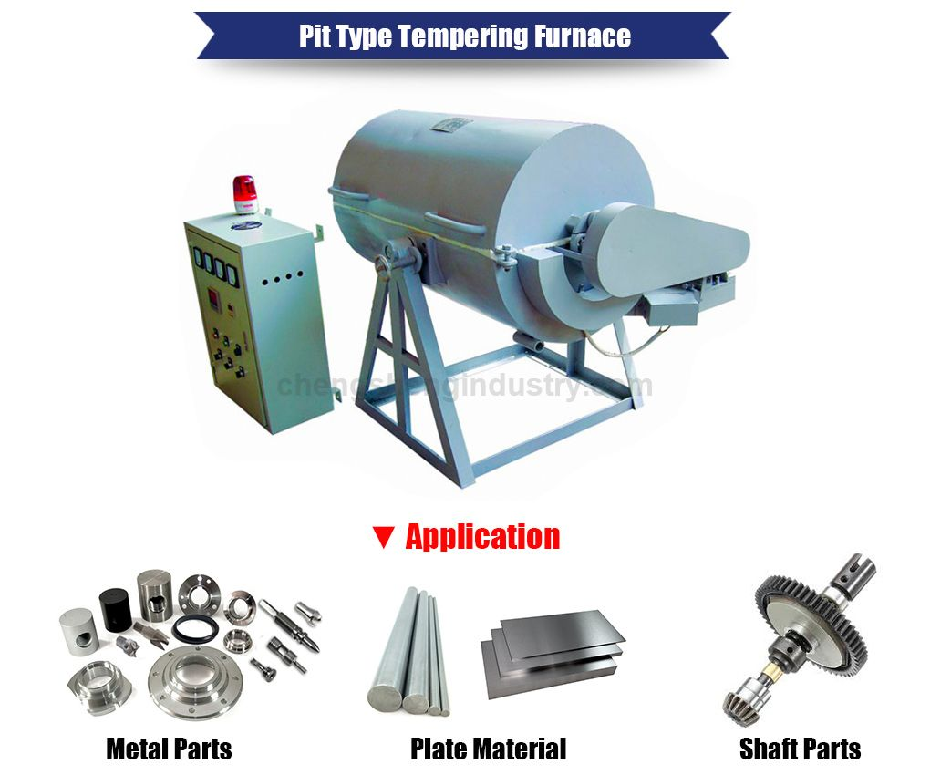 Pit Type Heat Treatment Tempering Furnace