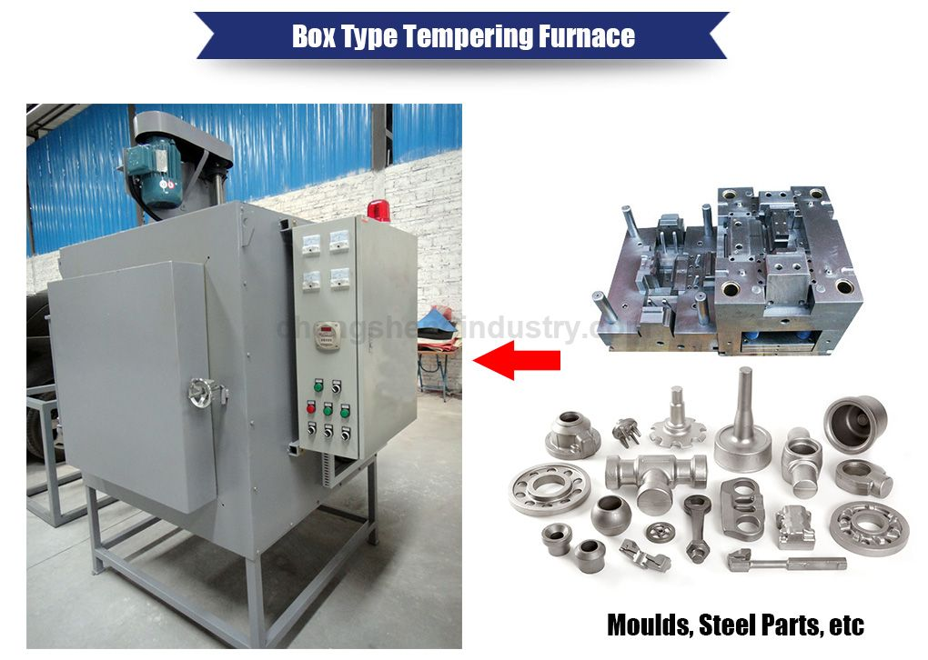 Box Type Electric Resistance Heat Treatment Tempering Furnace