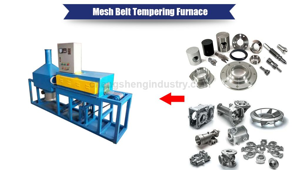 Cotninuous Mesh Belt Tempering Furnace