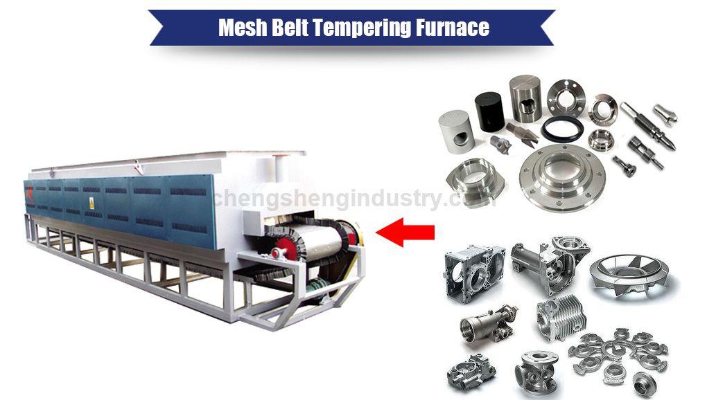 Mesh Belt Conveyor Teat Treatment Furnace