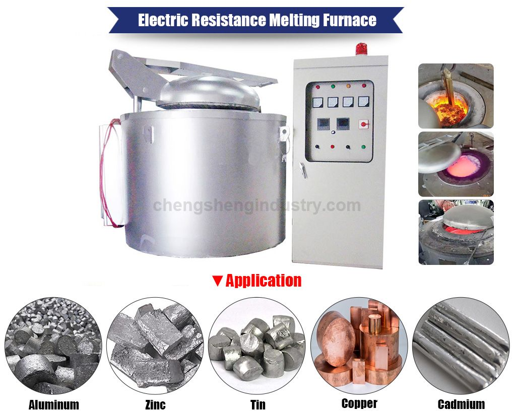 Electric Resistance Crucible Aluminum Melting Oven