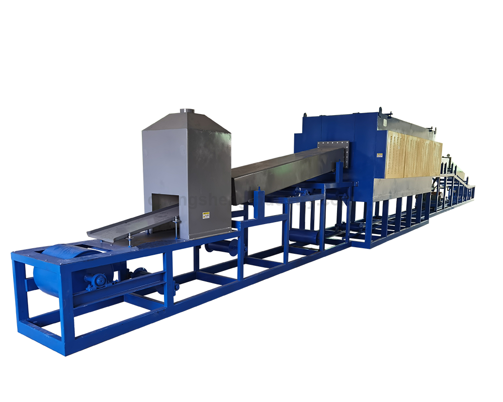 Newly atmosphere protection continuous bright heat treatment annealing furnace manufacturer
