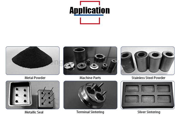 Customized continuous atmosphere mesh belt powder metallurgy fast sintering furnace price